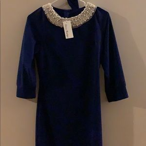 Déesse boutique navy blue dress